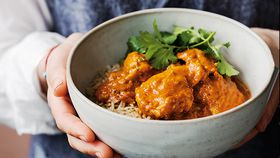 Slow cooker healthy butter chicken recipe