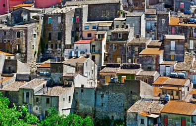 Mussomeli, Sicily.