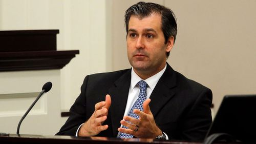 Slager, 36, pleaded guilty to violating Mr Scott's civil rights (Image: AP)