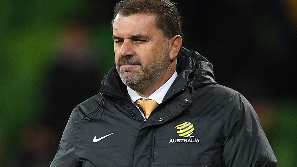 Socceroos coach Ange Postecoglou responds to claims he is quitting before 2018 World Cup