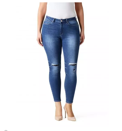 "<a href=""http://www.jeanswest.com.au/en-au/jeans/women/curve-embracer-jeans.htm"" target=""_blank"">Just Jeans&nbsp;Izzy Curve Embracer Distresed Repaired Skinny 7/8th Jean, $99.</a>"