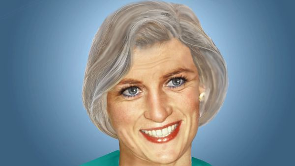 An artist imagines how Princess Diana would look now