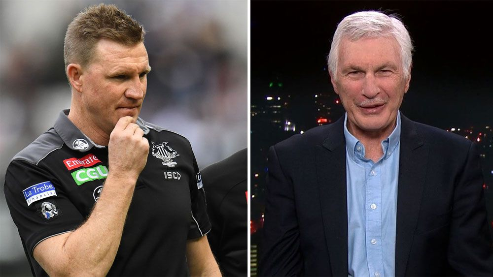 Nathan Buckley and Mick Malthouse.