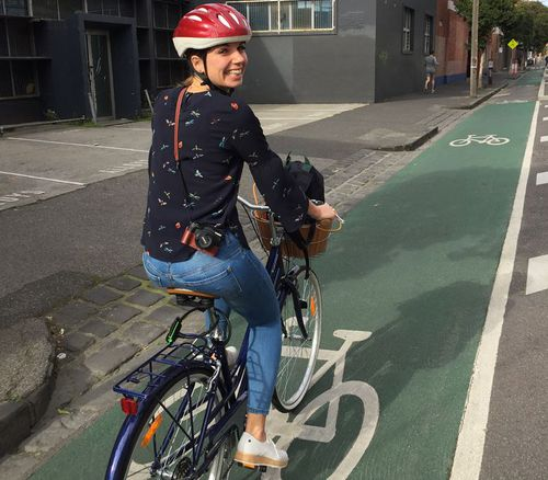 Gitta Scheenhouwer, 27, was killed riding her bike on South Yarra's Chapel Street last week.