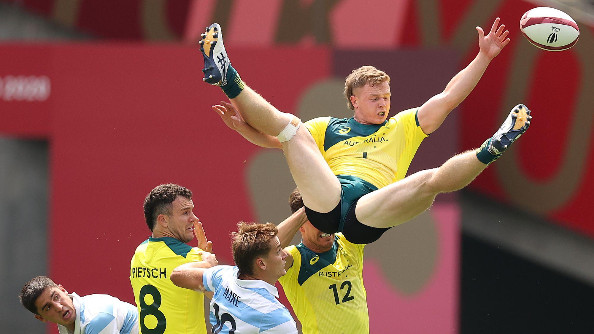 Aussie sevens team rocked in loss to Argentina