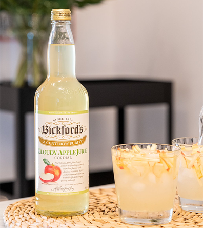 Bickford's Cloudy Apply Juice Cordial