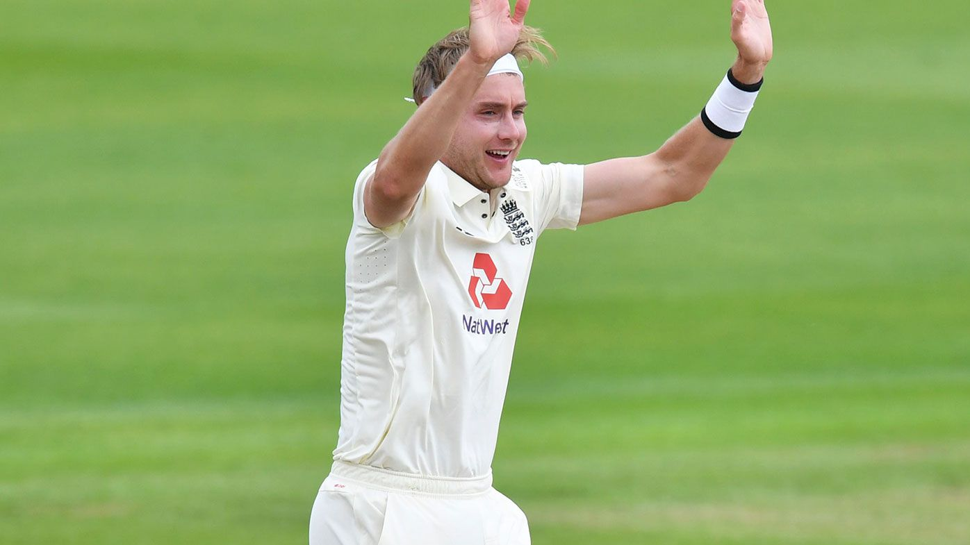 Stuart Broad has ripped through the West Indies batting on day three of the third Test.