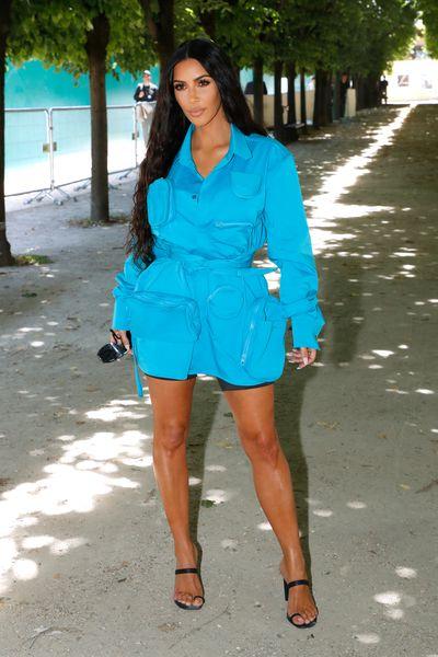 Kim Kardashian at Louis Vuitton Menswear Spring/Summer '19