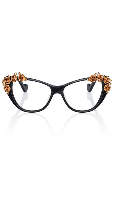 "<a href=""http://www.neimanmarcus.com/en-au/Anna-Karin-Karlsson-Lily-Love-Fashion-Glasses-Black-Golden-Optical-Frames/prod177400243_cat44250741__/p.prod"" target=""_blank"">Lily Love Fashion Glasses, $1,185, Anna-Karin Karlsson</a>"