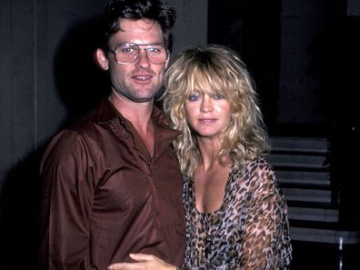 Kurt Russell and Goldie Hawn in 1983.