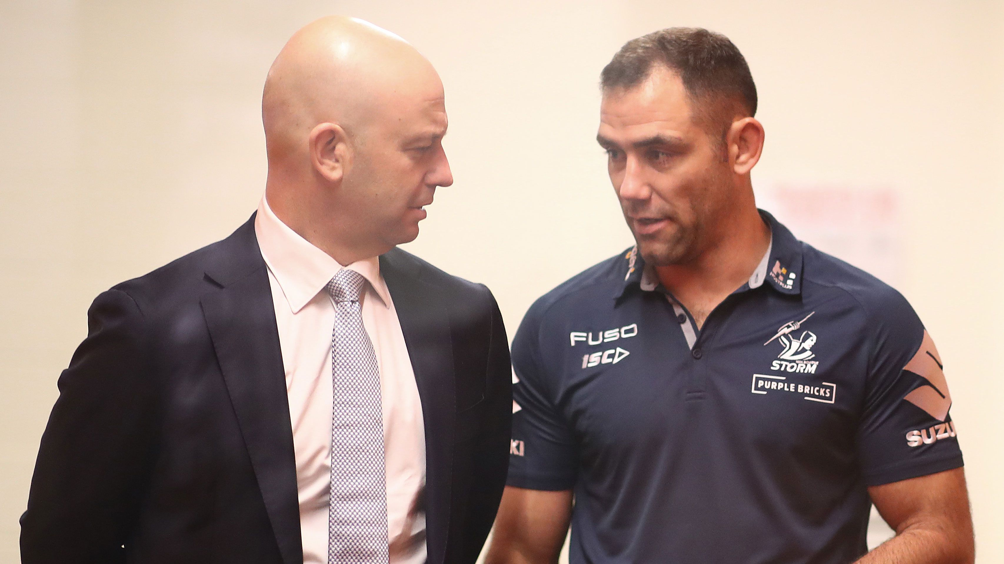 Todd Greenberg chats to Cameron Smith
