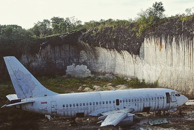 <strong>The Lost Plane, Kutuh, Bali</strong>