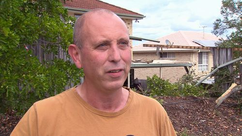 Witness Steve Cunliffe was washing his boat down when he saw the crash.