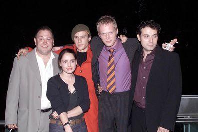 Mark Addy, Heath Ledger, Paul Bettany, Rufus Sewell, Laura Fraser