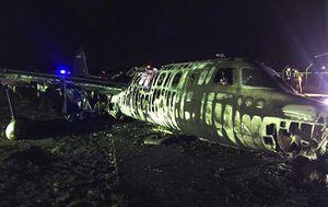 Medevac plane on coronavirus mission bursts into flames, killing eight people
