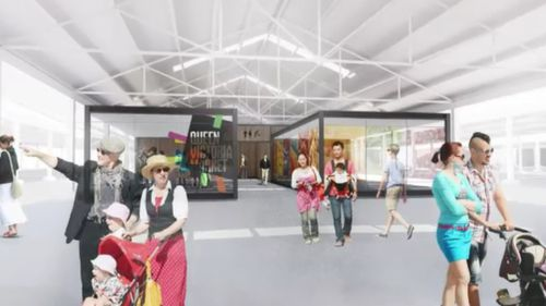 Redevelopment plans are now up in the air. (Supplied)