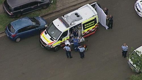 Paramedics at the scene. (9NEWS)