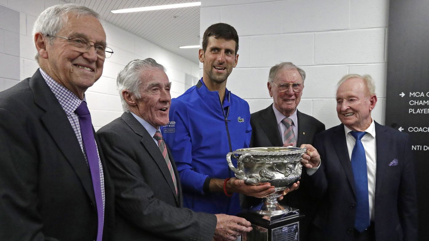 Australian Open 2019: Novak Djokovic's picture with Aussie legends, touching family photo