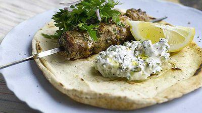 "<a href=""http://kitchen.nine.com.au/2016/05/05/14/51/lemon-and-oregano-lamb-kebabs"" target=""_top"">Lemon and oregano lamb kebabs</a> recipe"
