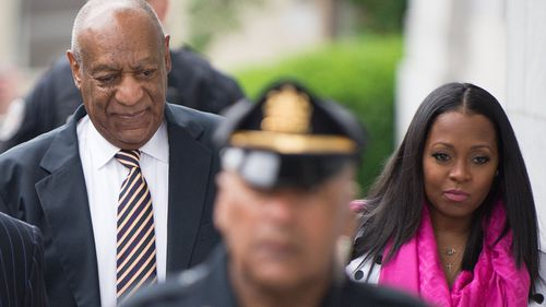 Keshia Knight Pulliam (right) played Bill Cosby's daughter for eight years until 1992. (AAP)