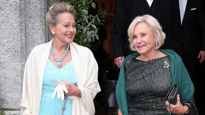 Princess Anna in Bayern, of Bavaria and Inge Wrede-Lanz