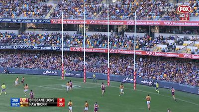 Hodge's Lions topple Hawks in AFL upset