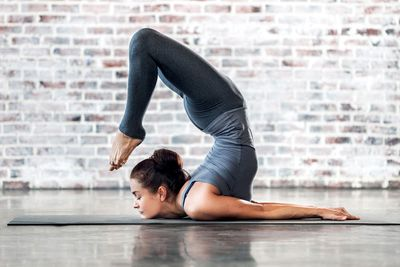 Yoga builds strength, flexibility, fitness and balance