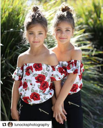 Leah Rose and Ava Marie Clements