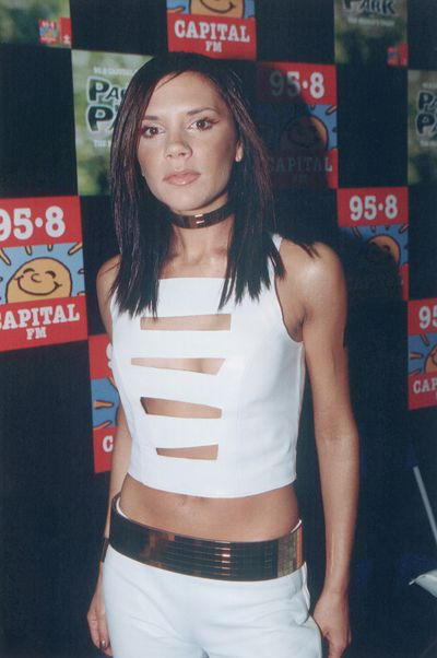 Victoria Beckham at Party in the Park in London, July 2000