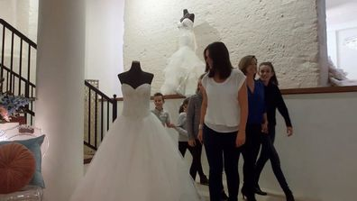 Second-time bride struggles to find a wedding gown on Say Yes to the Dress Australia
