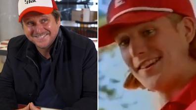 Dougie the pizza boy actor Diarmid Heidenreich now and then