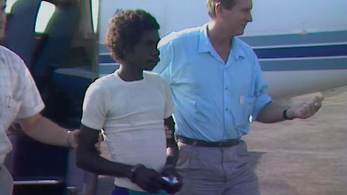 Dennis Rostron shot and killed his wife, two young sons and his parent-in-laws, at Molgawo outstation in Arnhem Land in 1988.