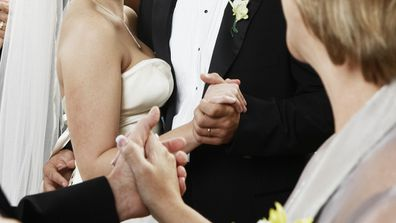 Bride asks mother in law to leave wedding reception due to insult.