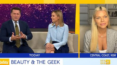 TODAY show Karl Allison Sophie Monk Beauty and the Geek