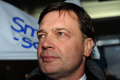 Andrew Wakefield makes a statement at the General Medical Council headquarters in London.