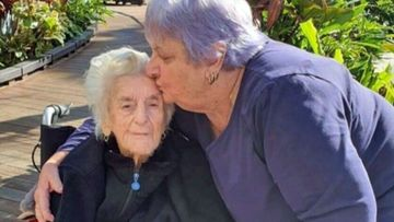 Freda Aughton is living out her final days separated from her family because of border rules.