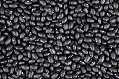 Black beans: 70mg per 100g