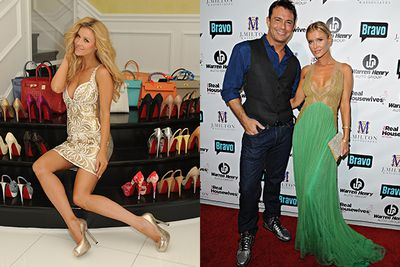 Joanna Krupa has seen her fair share of rumors.  Try to keep up with all this: the Miami blonde has been accused of cheating with Beverly Hills star Yolanda Foster's husband, Mohamed Hasid by Brandi Glanville and Girls Gone Wild founder Joe Francis. <br/><br/>Joe also claims Joanna was previously a high class $10 000 a night escort and that he slept with the star and her sister years earlier.  Joanna's longtime partner Romain Zago was allegedly caught cheating via saucy emails, but the pair married in a $1million ceremony in late 2013.