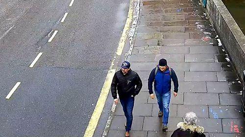 Ruslan Boshirov and Alexander Petrov on Fisherton Road, Salisbury.