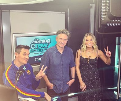 Dave Hughes, Ed Kavalee and Erin Molan.