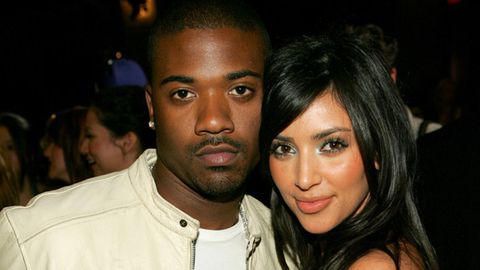 Awkward-ville! Kim K's sex tape co-star Ray J moves 'eight doors down from Kimye'