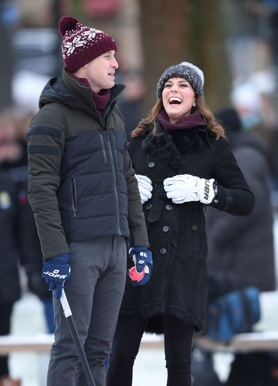 The Duke and Duchess of Cambridge in Sweden, January