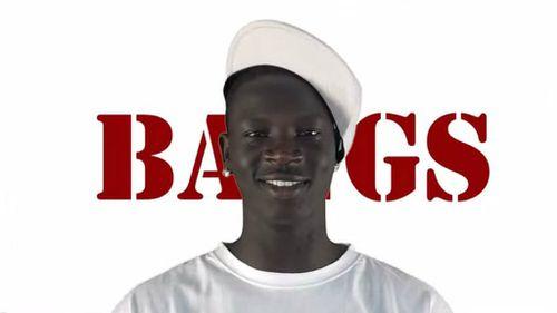 Bangs - aka Ajak Chol - has developed a cult following online. (YouTube)
