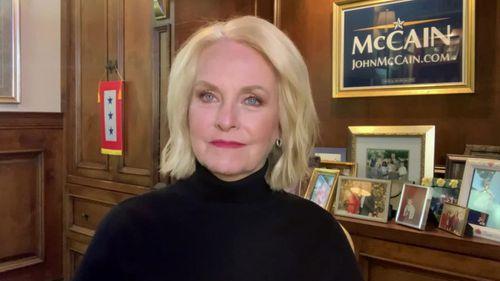 Cindy McCain on CNN