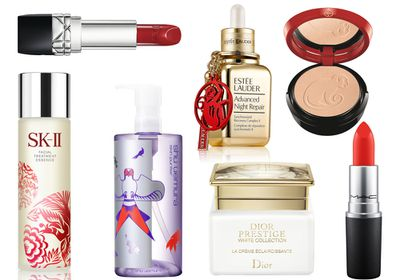 <p>In honour of Chinese New Year on 8 February, many luxury brands have released special products to commemorate the Year of the Monkey. In other words, there's an abundance of exciting new beauty loot to get your hands on. </p><p>Just be sure to hurry, because like the restless zodiac sign that inspired them, these products are here for a good time, not a long time.&nbsp;</p>