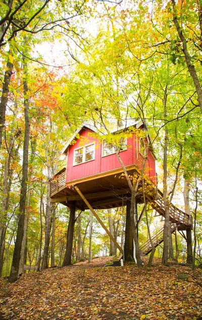 <strong>Treehouse in Loudonville, Ohio</strong>