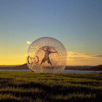 ZORB balls, Rotorua