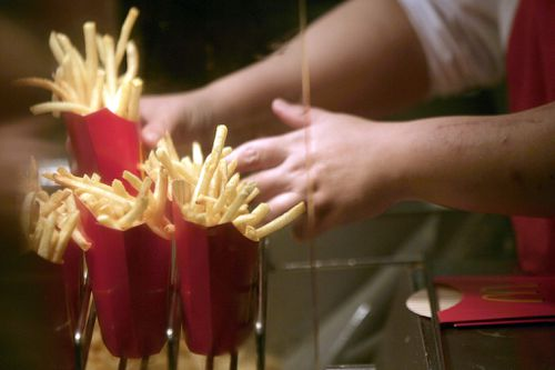 McDonald's fries may hold the key to a hair loss cure. (AAP)