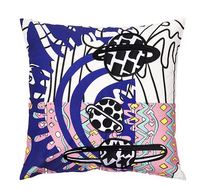 "SPRIDD cushion cover, $15, <a href=""http://www.ikea.com/ms/en_AU/ikea-collections/spridd/index.html?icid=itl%7Cau%7Cspring2017%7C201609290319121043_6"" target=""_blank"">IKEA</a>"