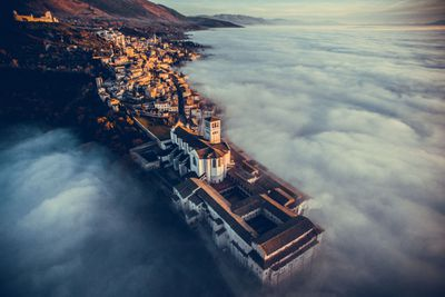 """<p><a href=""""http://www.dronestagr.am/author/fcattuto/""""><strong>Francisco Cattuto</strong></a><strong>: Basilica of Saint Francis of Assisi, Umbria, Italy</strong></p> <p><strong></strong></p>"""